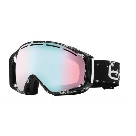 Masque de ski Gravity Black Caligraphy