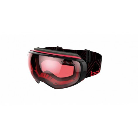 Masque de ski Virtuose Black & Red