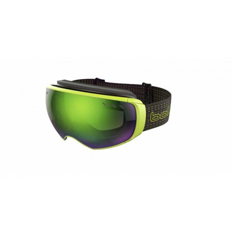 Masque de ski Virtuose Black & Lime