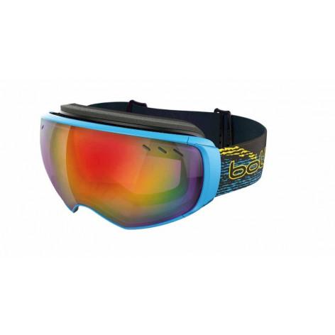 Masque de ski Virtuose Black & Cyan