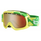 Masque de ski Bumpy Lime & Green