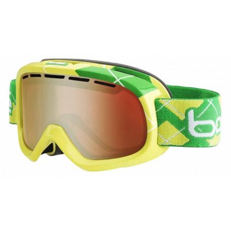 Masque de ski Bumpy Lime & Green