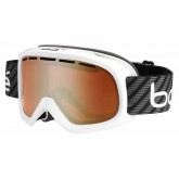 Masque de ski Bumpy White Carbon
