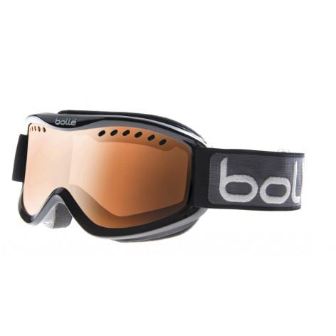 Masque de ski Carve Shiny Black