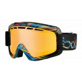 Masque de ski Nova II Shiny Black Burst