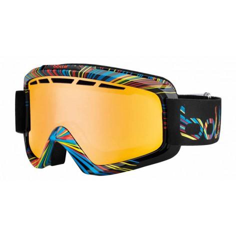 Masque de ski Nova II Shiny Black Burst