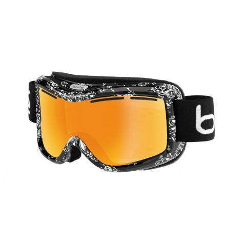 Masque de ski Monarch Black Bandana