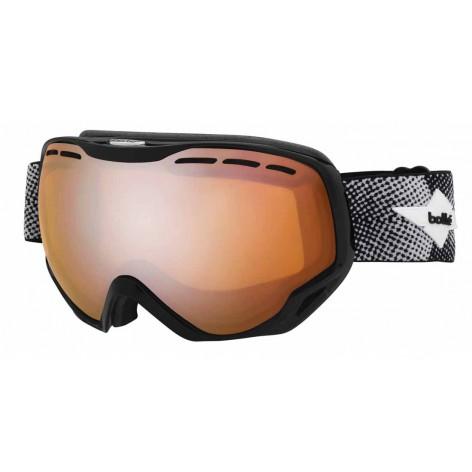 Masque de ski Emperor Shiny Black Cross