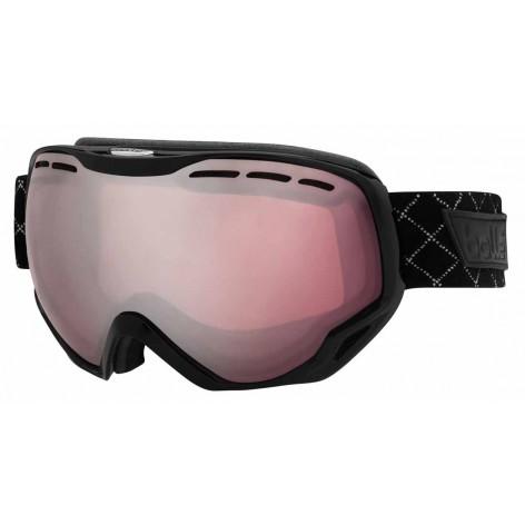 Masque de ski Emperor Shiny Black