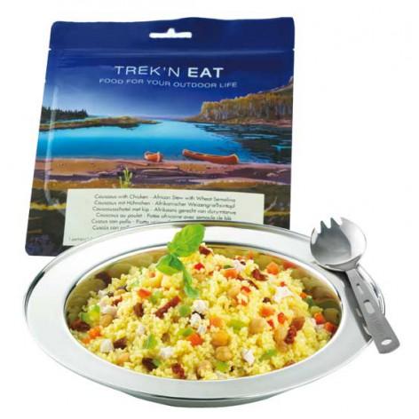 Couscous au poulet et aux légumes TREK'N EAT