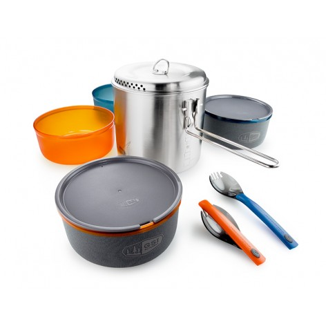 Popote Glacier Stainless Dualist
